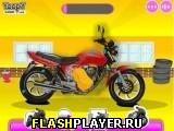 Мытьё мотоцикла и ремонт