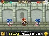 Марио борется с зомби