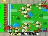Марио с бластером