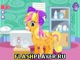 Игра Радужный пони лечит ногу онлайн