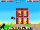 Супер Марио стреляет из пушки