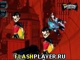 Бэтмен бросает батаранги