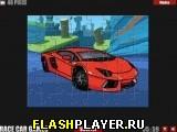 Игра Рисунок Lamborghini Aventador онлайн