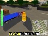 Игра 3Д доставка на грузовике онлайн