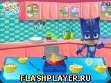Пижамный герой готовит ризотто