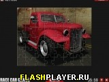 Красный грузовичок