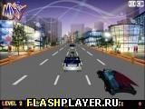Игра Бэтмен на дороге онлайн