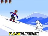Лыжи с препятствием