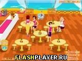 Игра Официантка на пляже онлайн