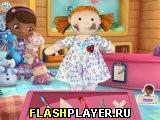 Игра Доктор Плюшева – Лечение куклы онлайн