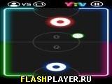 Неоновый хоккей