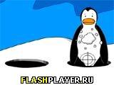 Игра Снежки с пингвинами онлайн