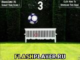 Удар по футбольному мячу