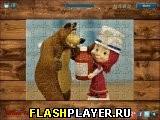 Маша и Медведь играют в доктора