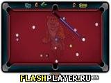 Игра Прямой бильярд онлайн