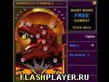 Игра Юрский пинбол онлайн