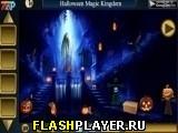 Волшебное королевство в Хэллоуина