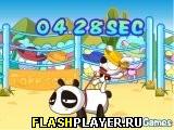 Игра Панда на родео онлайн