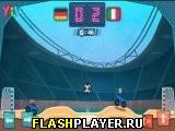 Игра Футбол на монстр траках онлайн