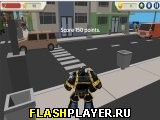 Игра Робот-герой – симулятор города 3Д онлайн