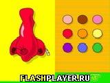 Игра Сделай нос онлайн