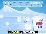 Игра Воин со снежками онлайн