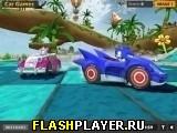 Игра Соник – спрятанные колёса онлайн