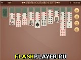 Игра Пасьянса Паук две колоды онлайн