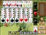Игра Пасьянс цветник онлайн