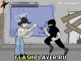Игра Чак Норрис атакует бойцовских ниндзя онлайн