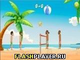 Забавный волейбол