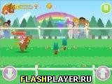 Игра Забег пони – Волшебные следы онлайн