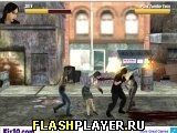Игра Уличная драка с зомби онлайн