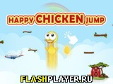 Игра Счастливый скачок цыплёнка онлайн