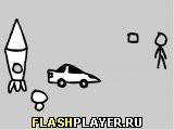 Игра Приключение умного стикмена 2 онлайн