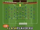 Игра Мировой футбол с колышками онлайн