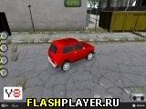 Парковка российских автомобилей