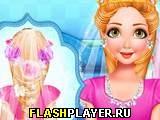 Свадебная причёска принцессы Рапунцель