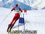 Игра Симулятор лыжного слалома онлайн