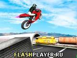 Трюки на мотоцикле на шоссе