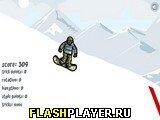 Игра Сноубордист-трюкач онлайн