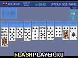 Игра Просто пасьянс Паук онлайн