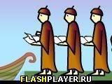 Игра Каннибалы и миссионеры онлайн