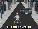 Игра Полицейский мотоцикл онлайн