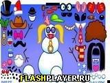 Игра Снеговик онлайн