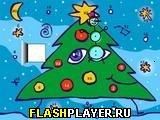 Игра Весёлая ёлка онлайн