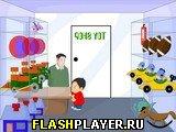 Игра Побег из магазина игрушек онлайн