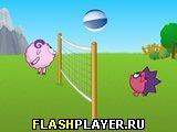 Игры смешарики онлайн: Волейбол