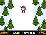 Игра Большой лыжный спуск онлайн