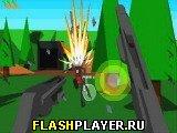 Игра Кролик с пушкой онлайн